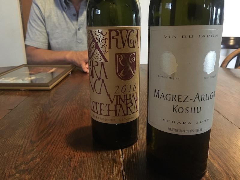 「マグレ・アルガ コウシュウ イセハラ」パプクレマンのオーナー、ベルナール・マグレさんと勝沼醸造さんとの奇跡の一本です。